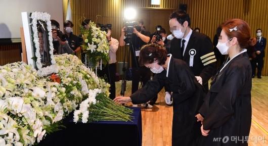 [사진]슬픔에 잠긴 故박원순 시장 유가족