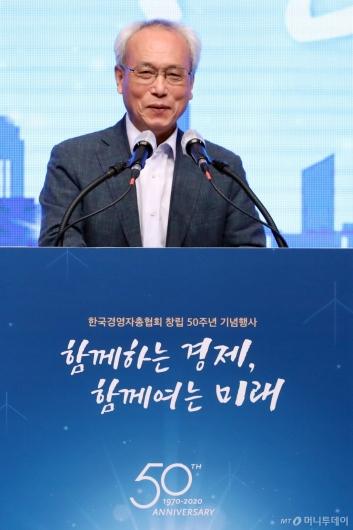 [사진]축사하는 문성현 위원장