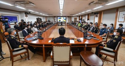 [사진]제22대 경찰청장 취임식
