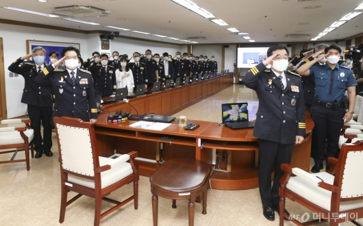 [사진]김창룡 신임 경찰청장 취임식