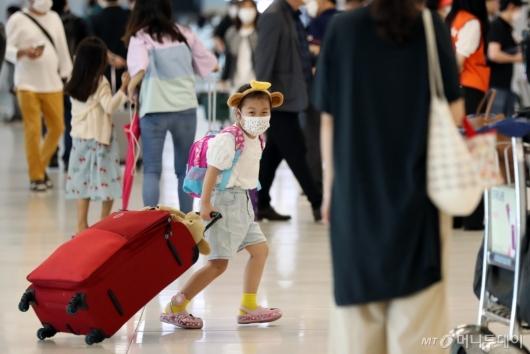 [사진]'휴가 다녀오겠습니다'