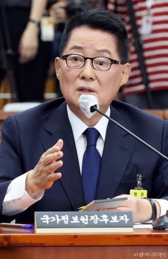 [사진]답변하는 박지원