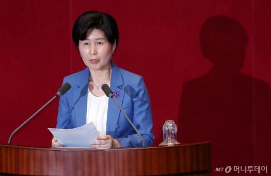 [사진]백혜련 의원, 임대차보호법 제안설명