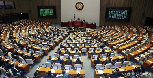 [사진]주택,상가건물 임대차보호법 개정안 본회의 통과