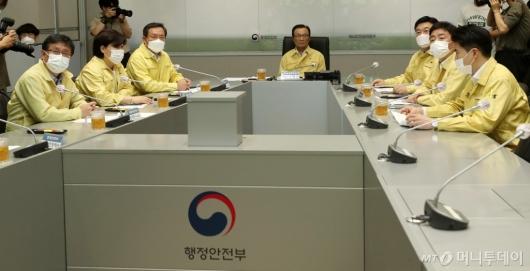 [사진]이해찬, 중부지역 호우 피해현황 점검