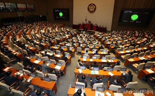 [사진]법인세법 일부개정법률안 본회의 통과