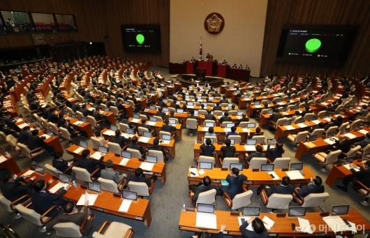 [사진]지방세법 일부개정법률안 본회의 통과
