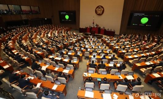[사진]지방세특례제한법 일부개정법률안 본회의 통과