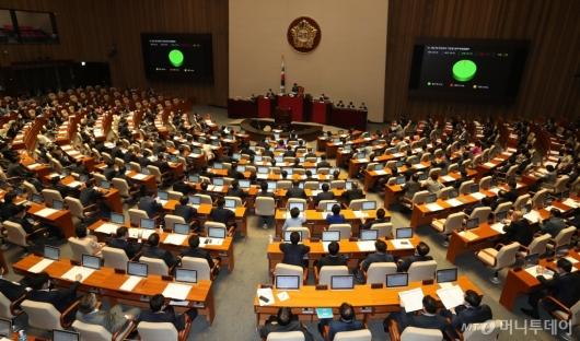 [사진]재난 및 안전관리 기본법 일부개정법률안 본회의 통과