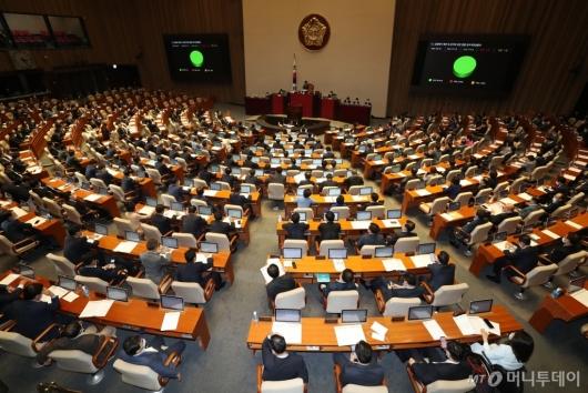 [사진]감염병의 예방 및 관리에 관한 법률 일부개정법률안 본회의 통과