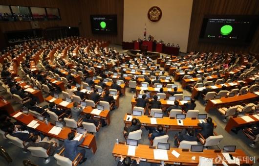 [사진]민간임대주택에 관한 특별법 일부개정법률안 본회의 통과