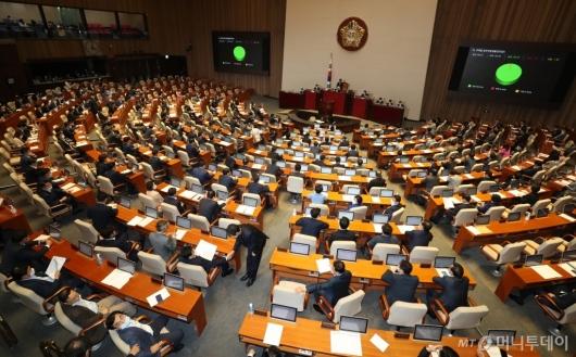 [사진]주택법 일부개정법률안 본회의 통과