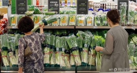 [사진]긴 장마에 귀해진 채소