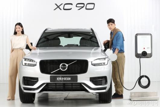 [사진]친환경 고성능 플래스십 SUV  볼보 XC90 T8 R-디자인 출시