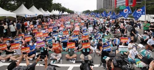 [사진]전국 의사 총파업 궐기대회