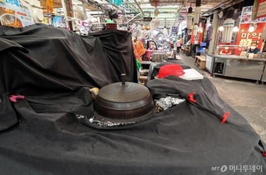 [사진]한산한 전통시장
