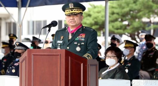 [사진]발언하는 박한기 합참의장