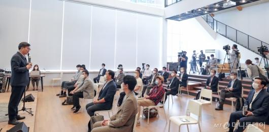 [사진]김동연 전 부총리 '소셜임팩트 포럼'