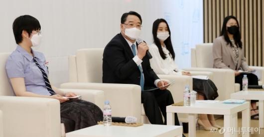 [사진]이공계열 학생들과 만난 석영철 원장