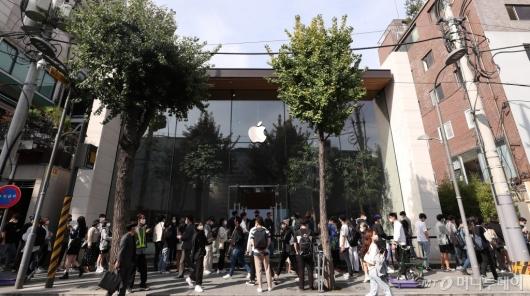 [사진]관심 집중된 애플워치 신제품
