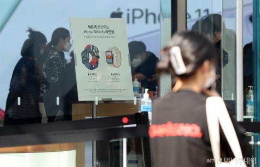[사진]애플워치 6-SE 국내 출시