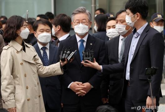 [사진]이재명 경기도지사 파기환송심 무죄 판결