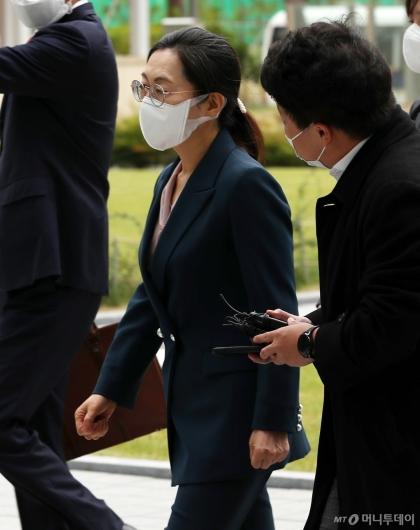 [사진]법정 향하는 은수미 성남시장