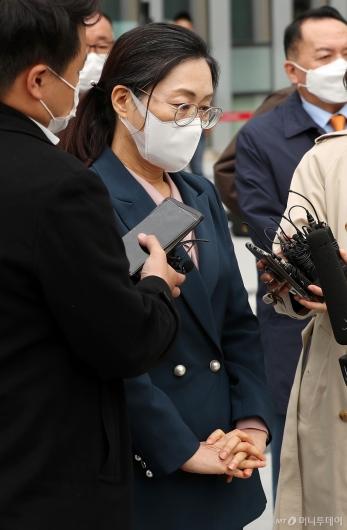 [사진]당선 무효 위기 넘긴 은수미 성남시장