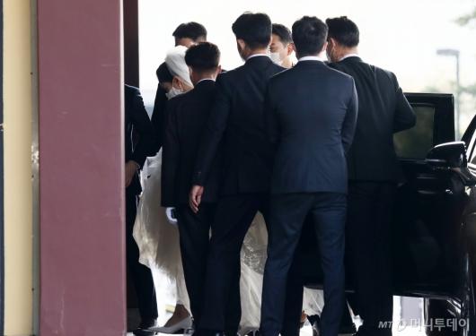 [사진]아모레 장녀 서민정 웨딩마치,