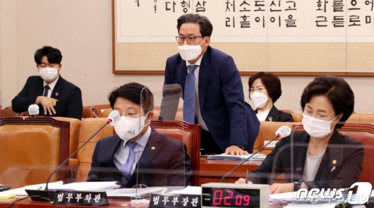 """심재철 """"野 정치인 수사 보고 패싱 상식밖"""""""