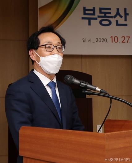 [사진]축사하는 김흥진 국토부 주택토지실장