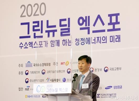 [사진]특별강연하는 우병렬 강원도 경제부지사