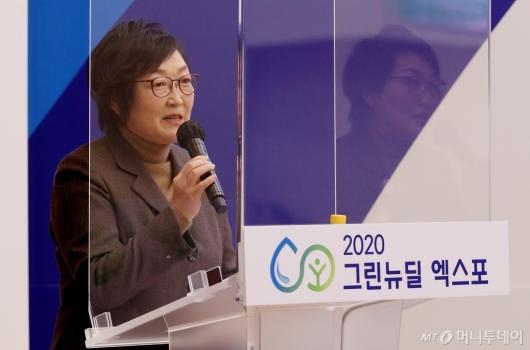 [사진]세션 소개하는 한선화 국가과학기술연구회 정책본부장
