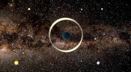 지구 크기만한 '나홀로 행성' 찾았다