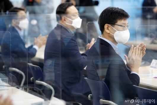 [사진]단체교섭 참석한 삼성전자