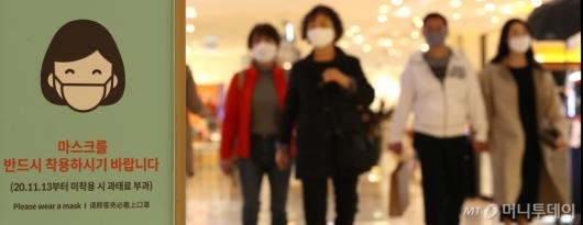 [사진]마스크 미착용시 과태료 부과 D-1
