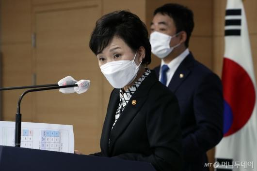 [사진]답변하는 김현미 장관