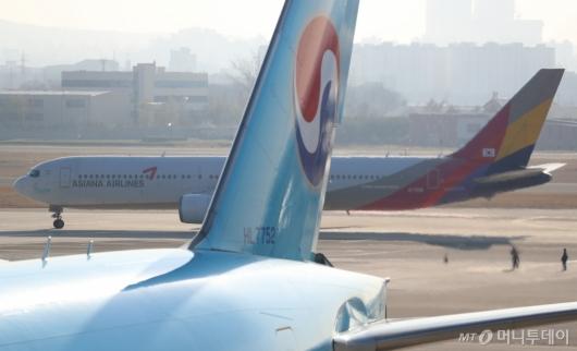 [사진]'대한항공·아시아나 통합' 법원 판결 임박