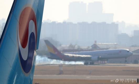 [사진]대한항공·아시아나 통합…법원 판결 임박