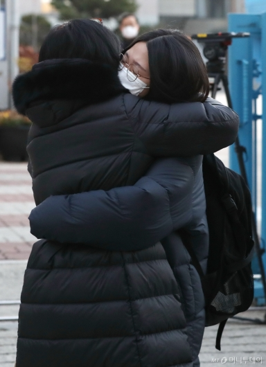 [사진]'우리 딸, 마지막까지 힘내'
