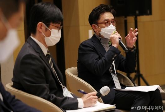 [사진]발언하는 권기준 SUPEX 추구협의회 부사장