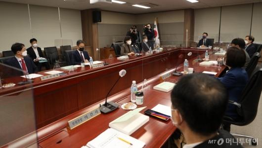 [사진]농수산물 설 선물 가액 상향 관련 긴급 전원위원회