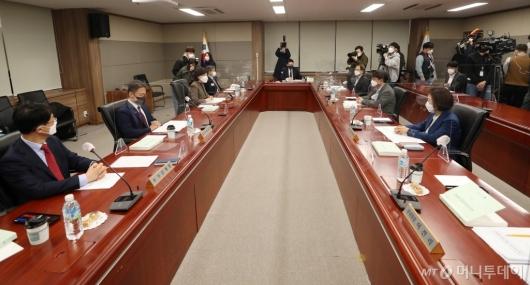 [사진]설 선물가액 상향 관련 긴급 회의