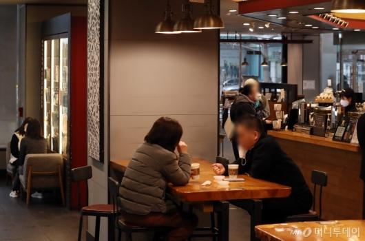 [사진]오늘부터 카페서 취식 가능