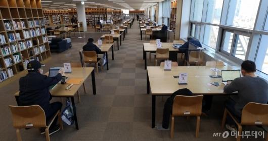 [사진]운영 재개된 국립중앙도서관