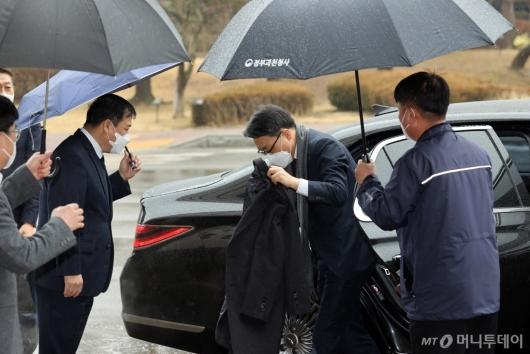 [사진]출근하는 김진욱 초대 공수처장