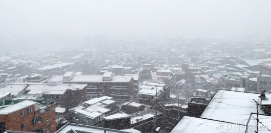 [사진]눈 내리는 서울