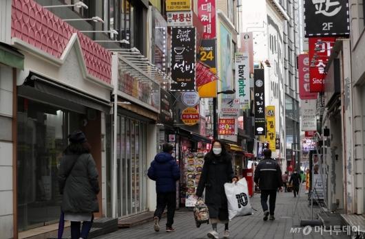 [사진]수도권 거리두기 2단계로 완화