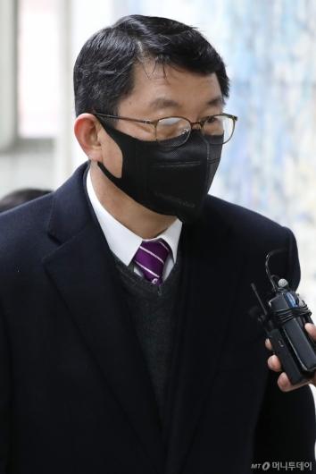 [사진]1심 선고 출석하는 김석균 전 해경청장