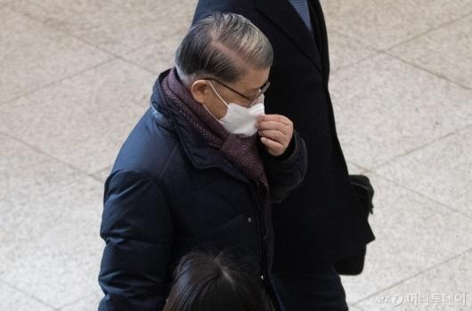 [사진]구속 갈림길 선 최신원 회장